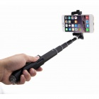 RUITAI Wireless Bluetooth Selfie Monopod w/ Holder for IPHONE - Black