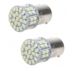 1156 22W 9000K 300lm 50-SMD 3528 White Car Lamp (12V / 2PCS)