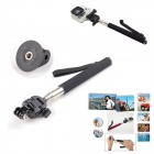 8-in-1 Sports Headband + Chest Strap + Monopod Kit for GoPro - Black