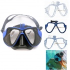 Fat Cat Professional Scuba Diving Mask with Tempered Anti-fog Glass for GoPro Hero4/3/SJ5000/4000