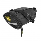 B-SOUL Outdoor Cycling Oxford Bike Zipper Tail Bag - Black