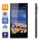 "Kingzone N3 PLUS Android 4.4 MT6732 FDD LTE 4G Phone w/ 5.0"" HD, Touch ID, ROM 16GB ,13M- Black"