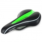 DEPRO DS-19 Hollow-out Bike Bicycle Seat Cushion Saddle - Black +Green