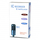 "1.3"" LCD Digital Audio Voice Recorder w/ 8GB, USB, Telephone Recording"