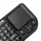 2.4G Wireless Mini Laser Keyboard w/ Touchpad - Black