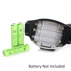 6-LED White + Red 3-Mode Outdoor Camping Headlamp - Black (3*AAA)