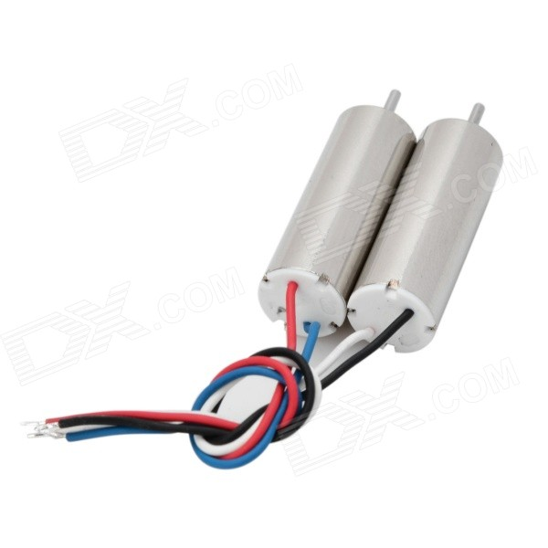 Replacement R/C Helicopter Coreless Motor for Hubsan - Silver (2PCS)