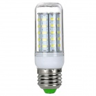 exLED E27 8W 800lm 48-SMD 5730 LED Bluish White Light Bulb (220~240V)
