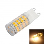 G9 3.5W LED Corn Bulb Warm White Light  51-2835 SMD 350lm 3000K - White (AC 220~240V)