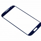 LCD Screen Front Lens Glass Cover for Samsung S4 i9500 - Dark Blue