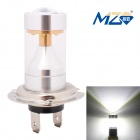 MZ H7 18W XB-D LED Car Front Fog Light White 6500K 1080lm w/ Constant Current - Silver (12~24V)