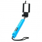7-Section Retractable Bluetooth v3.0 Selfie Monopod for GoPro / iOS / Android Phone - Light Blue
