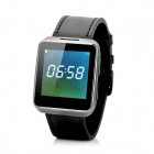 "X01 1,54 ""Bluetooth V4.0 Android 4.4 & amp; IOS 7 Smart Watch w / Heart Rate Monitor - Schwarz"