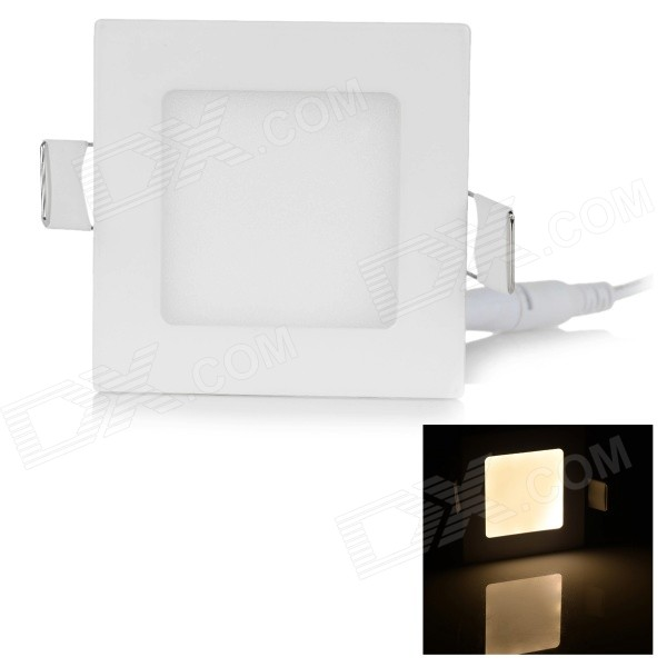 3W 120lm 3000K 15-SMD 2835 LED Warm White Ceiling Lamp (85~265V)