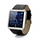 "Rwatch R6S 1.54"" TFT Bluetooth v4.0 Smart Watch w/ Hands-free, Pedometer - Black + Silver"