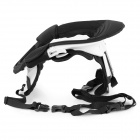 Motocross ATV Neck Brace Support Protector - Black + White (Free Size)