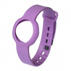 Rubber Sports Bracelet Watchband for Jawbone Up Move - Purple