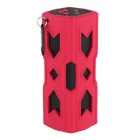 A6 Outdoor Bluetooth NFC Mini Speaker w/ Power Bank for IPHONE - Red