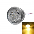 JIAWEN 5W LED Spotlight Ceiling Light Warm White Light 3200K 450lm - Silver + White (AC 85~265V )