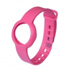 Rubber Sports Bracelet Watchband for Jawbone Up Move - Deep Pink
