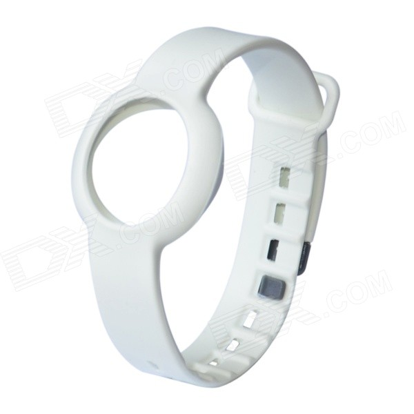 Rubber Sports Bracelet Watchband for Jawbone Up Move - WhiteWearable Device Accessories<br>Form ColorWhiteQuantity1 DX.PCM.Model.AttributeModel.UnitMaterialRubberPacking List1 x Watchband<br>