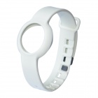 Rubber Sports Bracelet Watchband for Jawbone Up Move - White