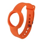 Replacement Rubber Sports Wrist Band for Jawbone Up Move Smart Bracelet - Orange