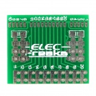 Elecfreaks-Aplomb-boards SOIC Adapters Flower05 for Arduino - Green