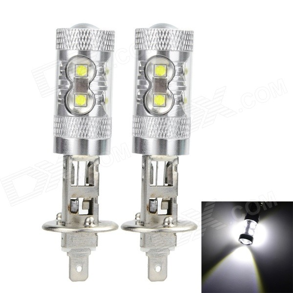 Marsing H1 50W XPE LED Car Fog Light / Head Lamp White 6000K (2PCS)
