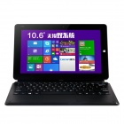 "Chuwi VI10 10.6"" Win8 android 4.4 Tablet PC 2G ram, 32GB ROM - preto"