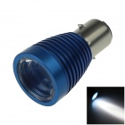 DRL BA20D H6 CREE XP-L LED 10W 6000K Motor Bike / Moped / ATV Headlight Bulb Fog Light (12~24V)