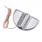 Universal 3W 30lm 3000K Warm White LED Car Shadow Light Lamp