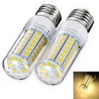 exLED E27 10W 3000K 900lm SMD 5730 Warm White Bulb (220~240V / 2PCS)