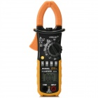 "HYELEC MS2008A 1.5"" Auto / Manual Digital AC Current Clamp Meter Tester - Black + Yellow (3 x AAA)"