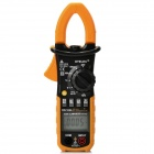 "HYELEC MS2108A 1.5"" Auto / Manual Digital AC / DC Current Clamp Meter - Black + Yellow (3 x AAA)"