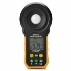 "HYELEC MS6612 Digital 1.65"" LCD Lux Meter w/ Auto Range / Auto Power Off - Black + Yellow"