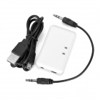 Rechargeable Bluetooth V2.1 Audio Receiver w/ Indicator - White