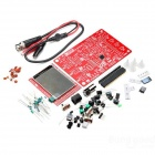 DIY DSO138 Digital Oscilloscope Kit Electronic Learning Kit - Black + Red