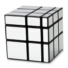 Irregular Mirror 3 x 3 x 3 Magic IQ Cube - Black + Silver