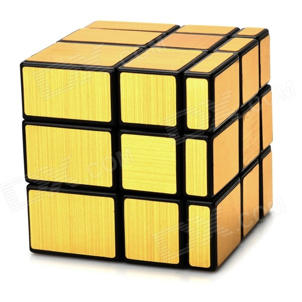 Irregular Mirror 3*3*3 Magic IQ Cube - Black + GoldMagic IQ Cubes<br>Form  ColorBlack + GoldMaterialABS plasticQuantity1 DX.PCM.Model.AttributeModel.UnitType3x3x3Suitable Age 5-7 years,8-11 years,12-15 years,Grown upsOther FeaturesIrregular 3 x 3 x 3 magic IQ cube design; Ideal as a small gift for your kids or friendsPacking List1 x Cube<br>