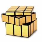 Irregular Mirror 3*3*3 Magic IQ Cube - Black + Gold