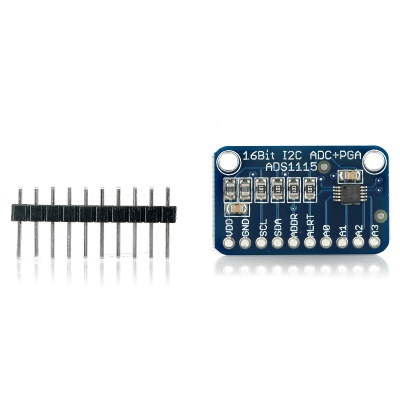 ADS1115 16-Bit I2C ADC Development Board for Arduino / Raspberry Pi