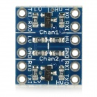 2-Channel 3.3V / 5V Logic Level Converter - Blue