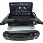 "lsqstar 7"" bil DVD spiller m / GPS SWC RDS bluetooth for VW - svart"