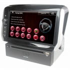 "LsqSTAR 7"" Car DVD Player w/ GPS, IPOD, 6CDC, Canbus, Bluetooth, FM, RDS, SWC, AUX for Peugeot 208"