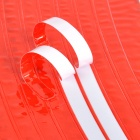 NUCKILY Bicycle Wheel Reflective Stickers - Red (5PCS)
