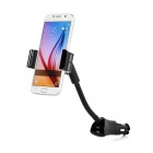 Universal 360' Rotary 5V / 1.5A USB Car Charger Phone Holder - Black