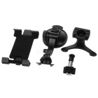 "Car Air-outlet Mount w/ Suction Cup for 4.7~9.7"" Phone, GPS - Black"