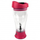 Vacuum Leak Proof Mixed Fruit Juice Stirring Cup - Red (2 * AA)