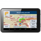 "7 ""HD Android 4.4 GPS-Navigationssystem / Tablet PC w / WLAN / FM / 8GB Flash-Speicher (Mexiko-Karte)"
